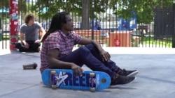 美国万花筒:美国滑板运动形象大使纳福塔利·威廉斯