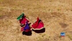 برگزاری صنف آموزش رقص توسط هنرمند افغان