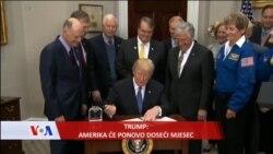 TRUMP: Amerika će ponovo doseći mjesec