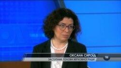 Оксана Сироїд: поки Донбас окуповано, ні про які вибори не може йти мова. Відео