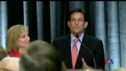 2014-06-11 美國之音視頻新聞: 國會眾議院多數黨領袖坎托在初選落敗