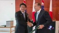 日本和澳大利亚签署军事技术交流协议