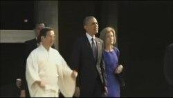 رئیس جمهوری آمریکا وارد مالزی شد