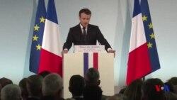 Macron croit en une victoire militaire contre l'EI au Levant (vidéo)