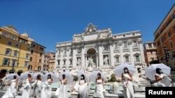 Dasmë në mes të Romës, në mes të pandemisë
