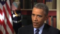 اوباما: ایران برنامه اتمی خود را دست کم ۱۰ سال در سطح فعلی نگه دارد
