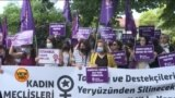 استنبول میں افغان خواتین سے اظہارِ یکجہتی