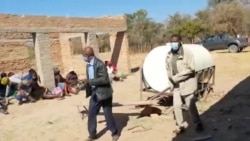 Villagers Singing, Dancing Before Receiving US$1,000 from Pan African Game Changers for Drilling Borehole