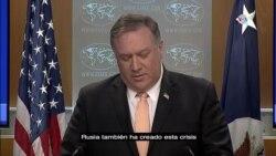 """""""Rusia ha creado esta crisis"""", Pompeo sobre Venezuela"""
