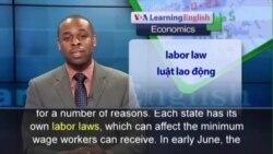 Anh ngữ đặc biệt: US minimum wage (VOA)
