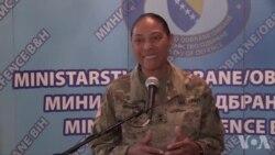 Komandantica Nacionalne garde u Marylandu: Pripadnici Oružanih snaga BiH pokazali izdržljivost