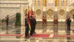 Grand Reception for Zimbabwe President In Belarus