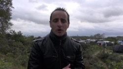 Nicolas Pinault, envoyé spécial de VOA Afrique, en France pour couvrir la crise des migrants