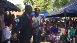 Nelson Chamisa Attending Late Oliver Mtukudzi Funeral Wake