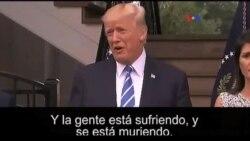 Venezuela reacciona ante las declaraciones de Trump