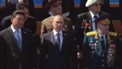 رژه بیسابقه نظامی روسیه در مراسم سالگرد پایان جنگ جهانی دوم