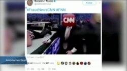Trump 'CNN'i Dövdüğü' Video Paylaştı