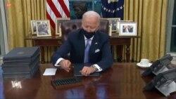 Les 17 premiers décrets de l'ère Biden