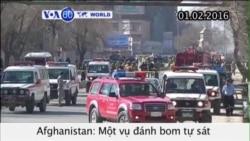 Đánh bom tự sát ở Afghanistan, ít nhất 9 người chết (VOA60)