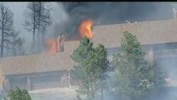 亚利桑那州野火仍然凶猛