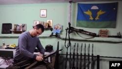 """""""Rus impercha harakati"""" rahbarlaridan biri Denis Gariyev"""