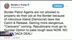 """Predsjednik Trump poziva na strožije anti-imigrantske zakone. """"Sanjari"""" bez zaštite."""