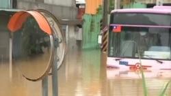 台风苏拉星期四在台湾造成三人死亡