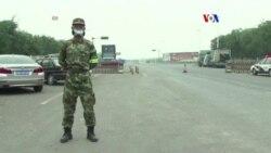 Residentes desplazados expresan indignación en Tianjin