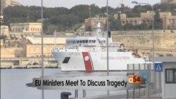 Italy Migrants Capsized Boat