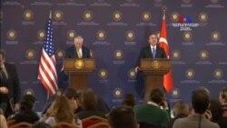 Թուրքիան ու ԱՄՆ-ը քննարկում են Սիրիայում քրդական խմբավորումների հարցը