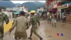 哥倫比亞洪水和泥石流 近250人喪生 (粵語)