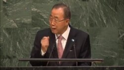 UN Secretary General Calls for Action, Commitment To New Development Goals