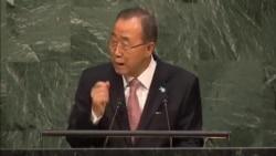 UN Secretary General Calls for Action, Commitment To New Development Goals