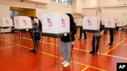 Arhiva - Birači u Merilendu glasaju na predsedničkim izborima, 3. novembra 2020.