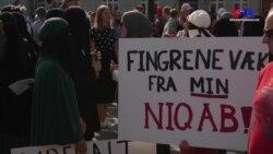 Danimarka'da Peçe ve Burka Yasağı Resmen Başladı