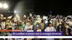 Coup d'envoi de la campagne électorale en Mauritanie