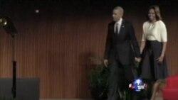 奥巴马赞扬美前总统约翰逊民权贡献