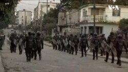 古巴發生罕見的抗議活動,拜登對古巴人民表示支持