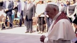 «Ես երջանիկ եմ, որ եղա Հայաստանում». Հռոմի Ֆրանցիսկոս Պապ
