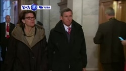 VOA60 America - White House: Trump Forced National Security Adviser Resignation