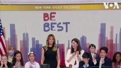 Մելանիա Թրամփը հնչեցրել է Նյու Յորքի ֆոնդային բորսան բացող զանգը