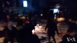 تصرف شورای حل اختلاف کرج میدان نبوت توسط معترضان در شنبه شب