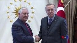 蒂勒森國務卿訪問土耳其