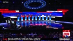 民主黨辯論凸顯溫和派和進步派之間的衝突 (粵語)