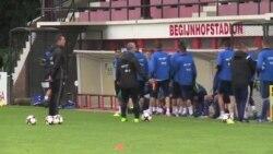 Uoči nogometnog susreta Belgija - BiH