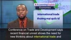 Phát âm chuẩn - Anh ngữ đặc biệt: UN Global Economy (VOA)