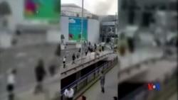 2016-03-22 美國之音視頻新聞: 布魯塞爾爆炸後關閉地鐵和機場
