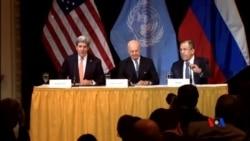 2015-11-15 美國之音視頻新聞: 敘利亞問題談判受巴黎襲擊影響 但取得進展