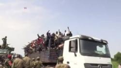 Soudan du Sud: les réfugiés affluent en Ouganda (vidéo)