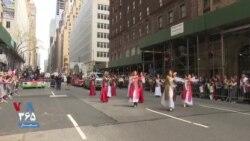 جشن رژه ایرانیان در شهر نیویورک؛ رقص با آهنگ «دارم میرم به تهران» از اندی